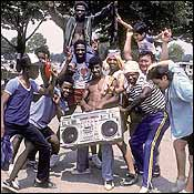 The Boom-box years in New York.