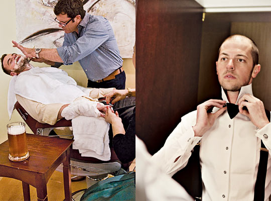 Nymag Real Weddings: Manscaping -- New York