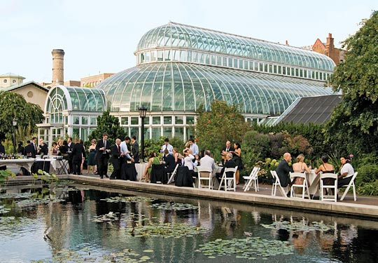 New york wedding guide the reception outdoor venues - New york botanical garden wedding ...