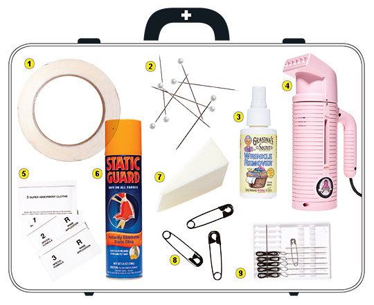 New York Wedding Guide - The Checklist - Emergency Kit